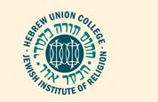 HUC-JIR Logo