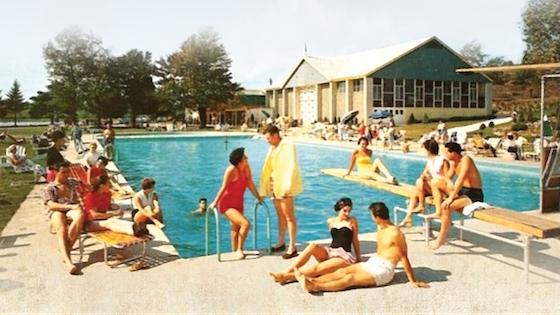 Catskills pool