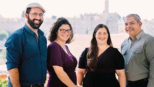 The Ordination Class of the 100th Graduate of the Israeli Rabbinical Program