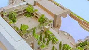 Rendering of Taube Family Campus: Moshe Safdie