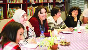 Jewish, Christian, and Muslim teachers working together