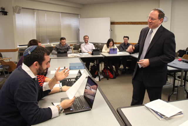 Rabbi Aaron Panken Teaching at HUC-JIR/New York