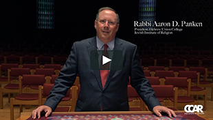 Rabbi Aaron Panken in the HUC-JIR/New York Synagogue