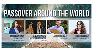 Passover Around the World graphic