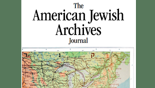 Cover of The American Jewish Archives Journal