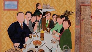 """Dorene Beller's """"Family Dinner"""" from 2012"""